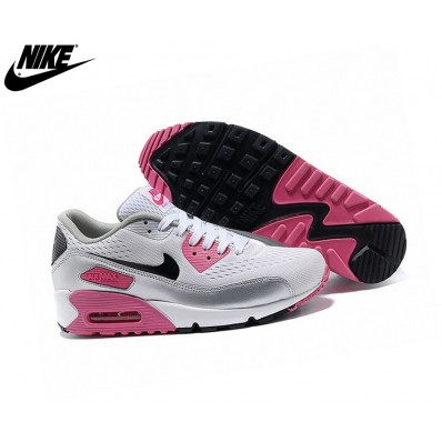 air max 90 junior blanc noir rose pas cher