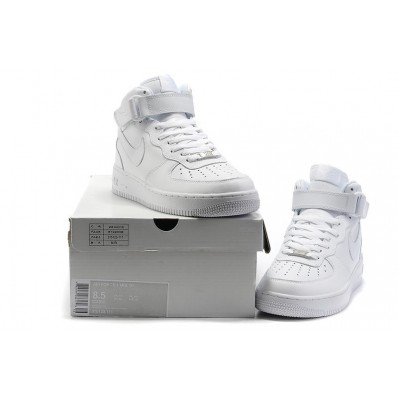 basket nike air force 1 mid blanc pas cher