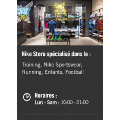 boutique nike carre senart