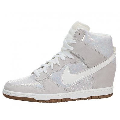 nike dunk femme blanche