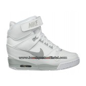 nike blanche compensee femme