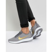 nike grise et blanche homme