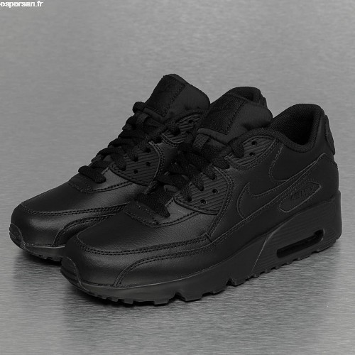 air max 90 leather noir pas cher