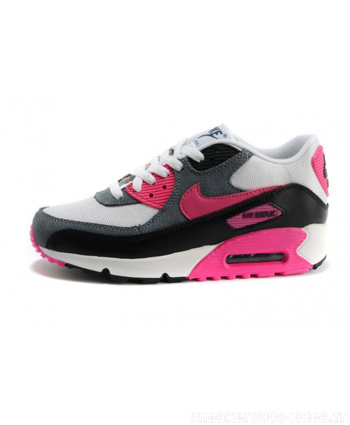 air max blanche rose grise
