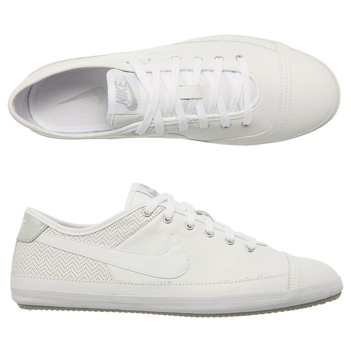 basket nike blanche homme