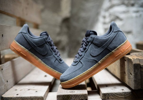 air force 1 grise daim